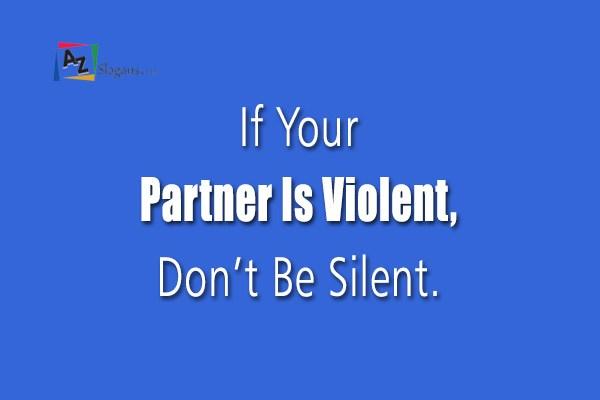 Dating abuse slogans dating site abu dhabi