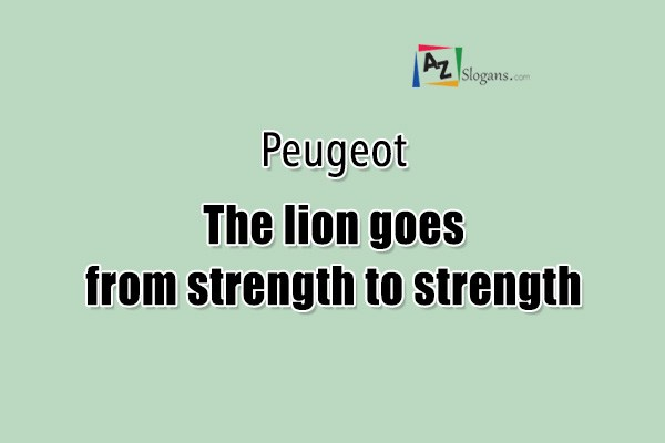 Peugeot    The lion goes from strength to strength