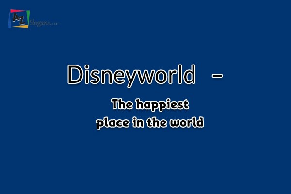 Disneyworld   –   The happiest place in the world