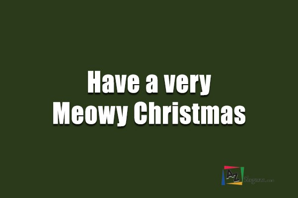 Have a very Meowy Christmas
