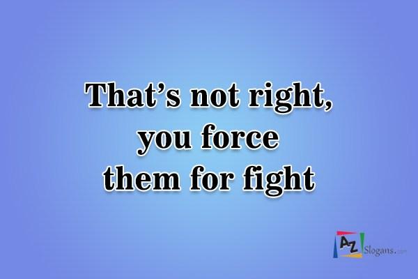 Anti Dog Fighting Slogans - Page 2