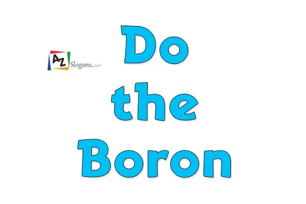 Do the Boron