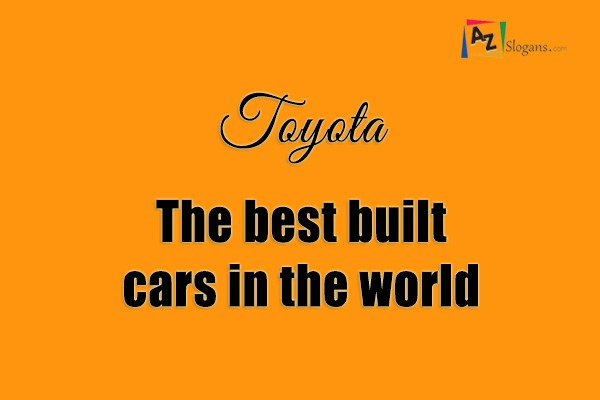 Toyota The Best Built Cars In World Html Embed Code