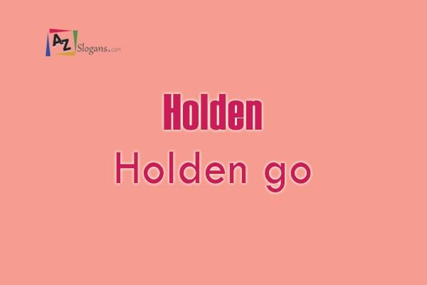 Holden    Holden go