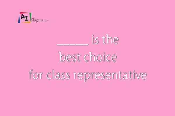 _____ is the best choice for class representative