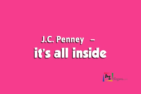 J.C. Penney   –   it's all inside