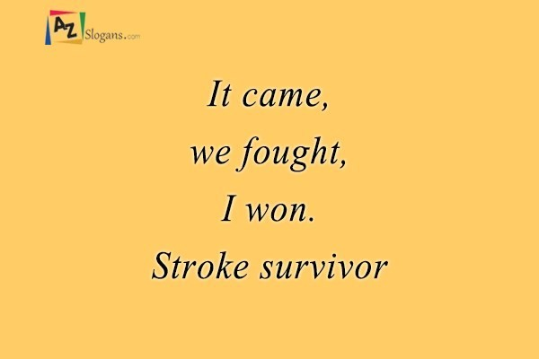 dating stroke survivor More than 65 million people in the u s have survived a stroke in a split second your life changed and you are now a stroke survivor we want to help you learn about stroke and understand what care and support options.