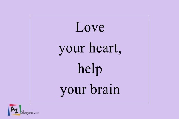 Love your heart, help your brain