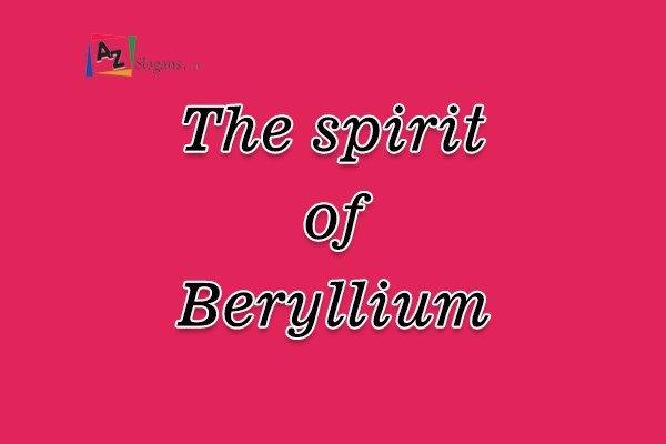 The spirit of Beryllium