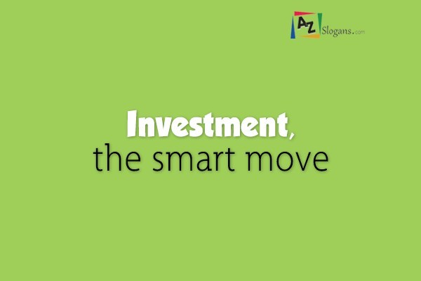 Investment, the smart move