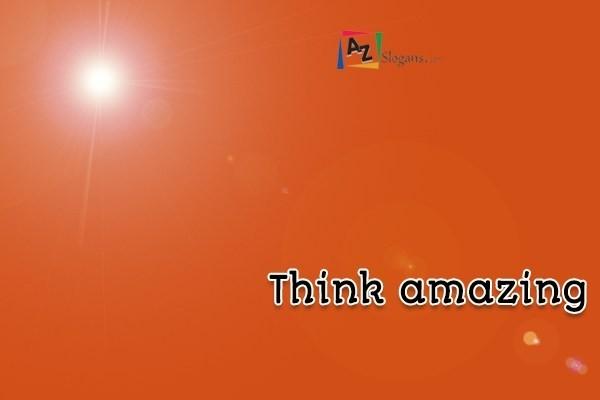 Think amazing