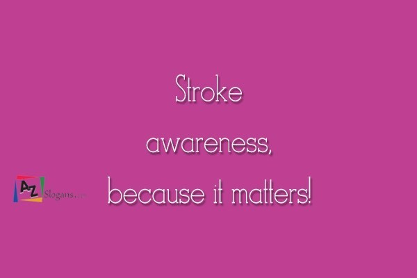 Stroke awareness, because it matters!