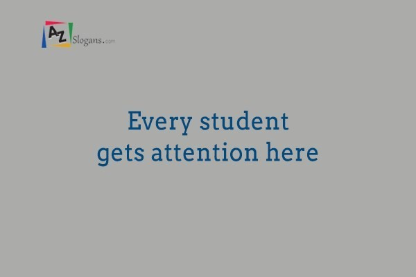 Every student gets attention here