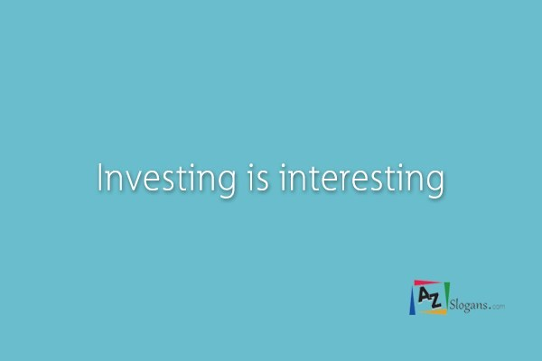 Investing is interesting