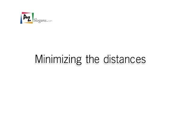 Minimizing the distances