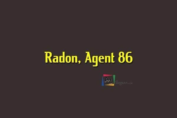Radon, Agent 86