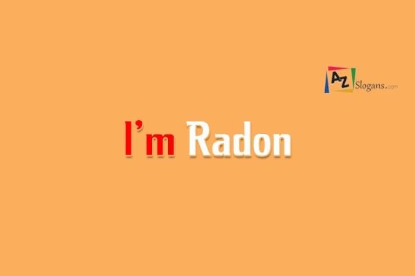 I'm Radon