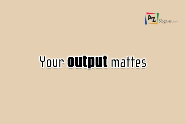 Your output mattes