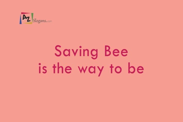 Saving Bee is the way to be