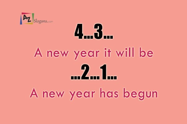 4…3…A new year it will be…2…1…A new year has begun