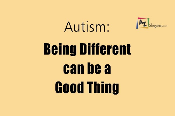 Autism: Being Different can be a Good Thing