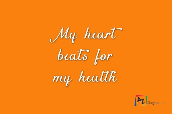 My heart beats for my health