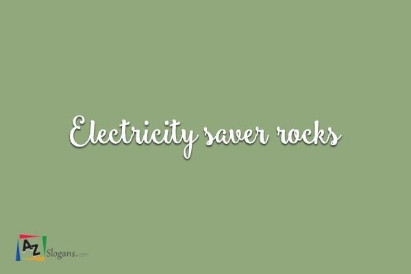 Electricity saver rocks