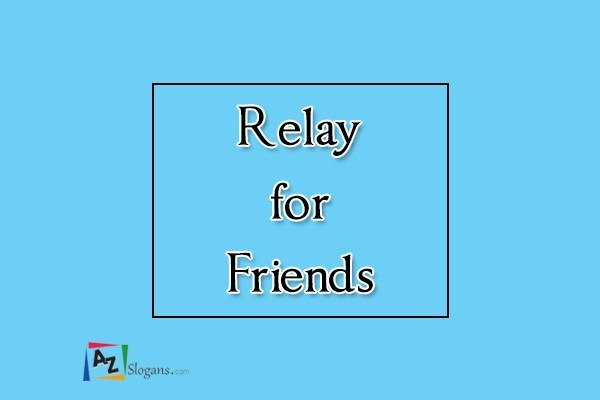 Relay for Friends