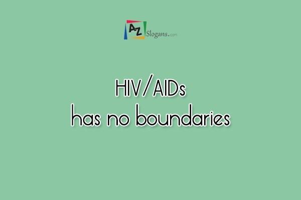 HIV/AIDs has no boundaries