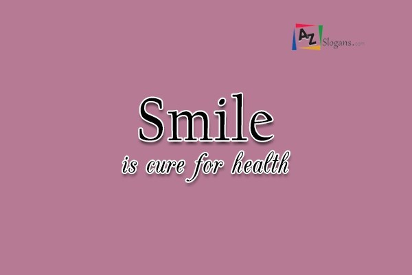 Smile is cure for health