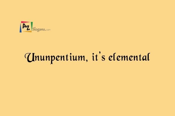 Ununpentium, it's elemental