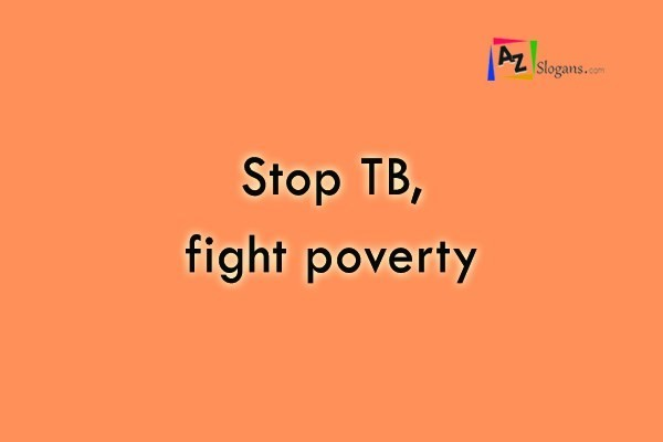Stop TB, fight poverty