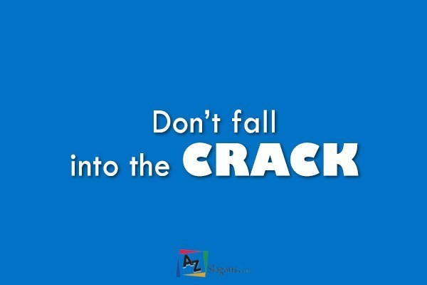 Don't fall into the CRACK