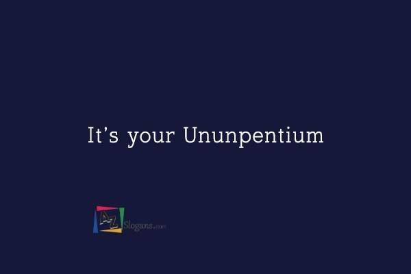 It's your Ununpentium