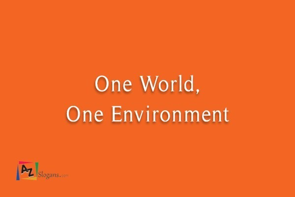 One World, One Environment