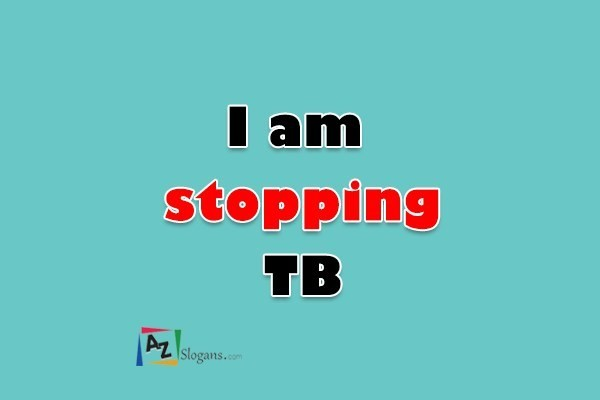 I am stopping TB