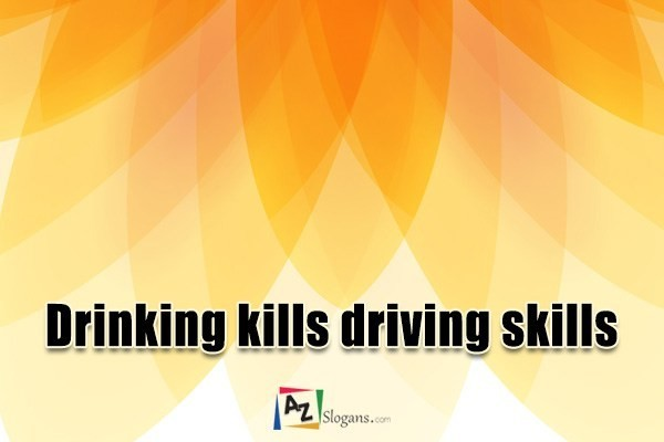 Drinking kills driving skills