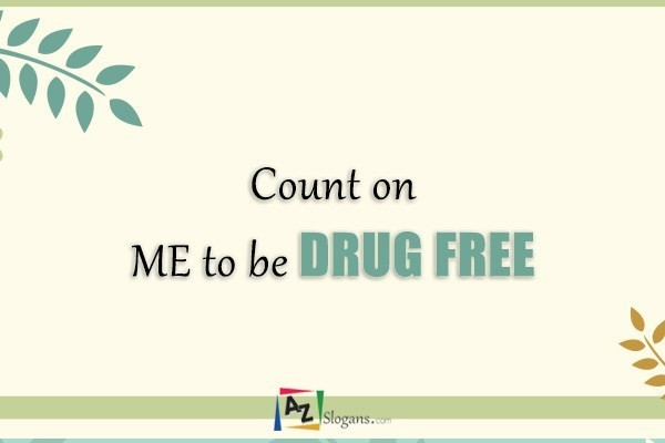 Count on ME to be DRUG FREE