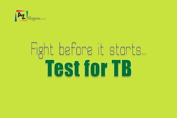 Fight before it starts… Test for TB