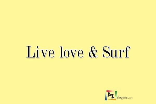 Live love & Surf