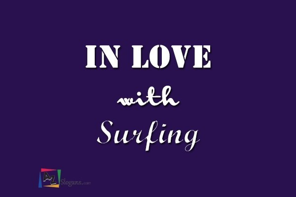 In love with Surfing
